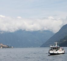 Ferry Boat, Lake Como by cocot101