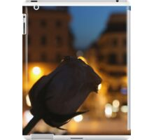 Rose at the Spanish Steps iPad Case/Skin