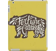 Brave Bear iPad Case/Skin