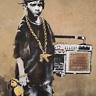 Banksy Kid Detail by runjoerun