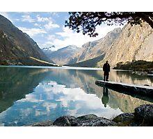 Laguna Chinaccocha, Huaraz, Peru Photographic Print
