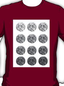 Vintage Moon Ombre T-Shirt