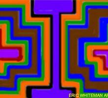 (STORM WARRIORS) ERIC WHITEMAN  ART   by eric  whiteman