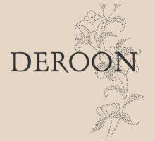 Deroon Typographic Tee by Zehda