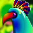 Carnival Bird by GolemAura