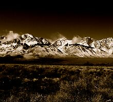 Eastern Sierra's Majesty by Brian McLafferty