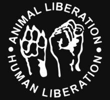 Animal Liberation Human Liberation Kids Clothes