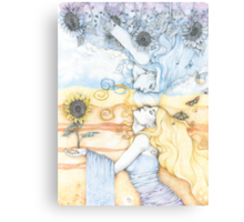 The Divine in Me Canvas Print