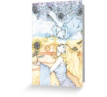 The Divine in Me Greeting Card