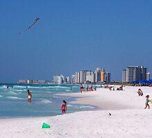 Destin Beach, Destin, Florida by Opal Westmoreland
