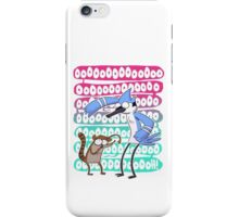 Regular Show Oooh! white version iPhone Case/Skin