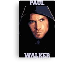 Paul Walker 2 Canvas Print