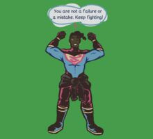 Motivational Superboy Kids Clothes