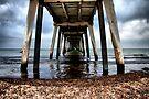 Stormy Pier by Varinia   - Globalphotos