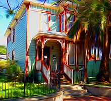 New Orleans Cottage by Rod Underhill
