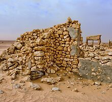 Mulka Ruins - Birdsville Track -South Australia by Jeff Catford