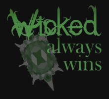 Once Upon A Time - Wicked Always Wins by TheSims1991