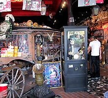 Jazz Funeral Voodoo Shop in the French Qtrs Nola by helene ruiz