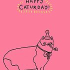 Happy Caturday - Manx by Sophie Corrigan