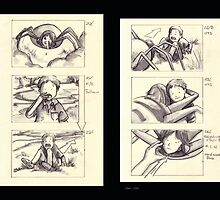 Storyboards for Walk by Liesl Yvette Wilson