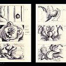 "Storyboards for ""Magic Lantern"" by Liesl Yvette Wilson"
