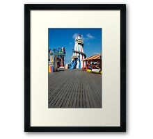 Brighton Pier Funfair Framed Print