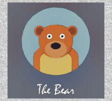 The Bear Cute Portrait by Florian Rodarte