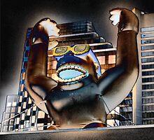 Kong in Vancouver by olivia destandau