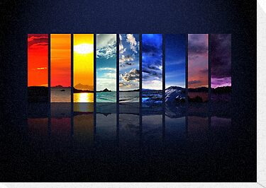 Spectrum of the Sky by Dominic Kamp