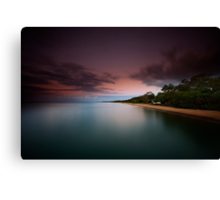 Dusk at Scarness Canvas Print