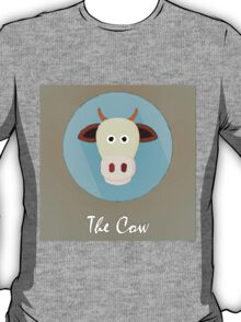 The Cow Cute Portrait T-Shirt