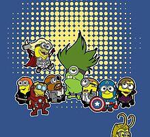 Assemble Minions by HulkHogan