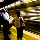 Mooving train by David Petranker