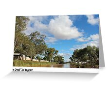 The creek Mt Magnet Greeting Card