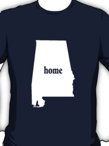 Alabama Home Tshirts - Custom Made T-Shirt