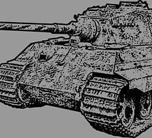 Tiger II by deathdagger