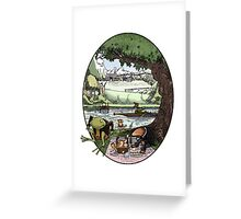 Wind in the Willows Greeting Card