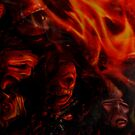 DETAIL CROP 2 100% from---SHELTER IN A BURNING ROOM by DALE CRUM