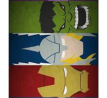 heroes or superheroes? by vimivu