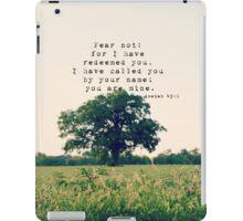 Fear not Isaiah iPad Case/Skin
