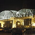 Nashville Bridge at Night by Debbi Tannock
