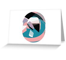 Rounded vector abstract drawing Greeting Card