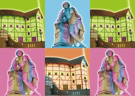 Globe Theatre  by Tony  Hardy