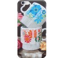 Summer Shade Retro Floral iPhone Case/Skin