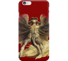 William Blake: The Great Red Dragon iPhone Case/Skin