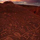 Eastern Sierra Petroglyphs by Tyler  Core