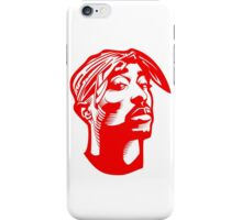 Tupac RED iPhone Case/Skin