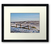 A Winters Day Framed Print