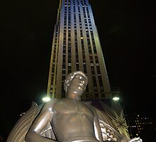 Rockefeller Plaza by Steve Hunter