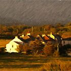 Morecambe Bay View - Oil Effect by Glen Allen